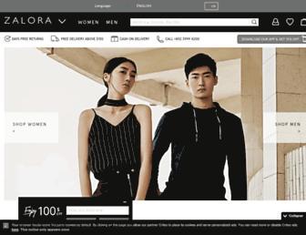 Thumbshot of Zalora.com.hk