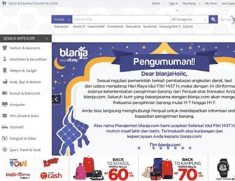 blanja.com screenshot
