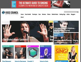 voicecouncil.com screenshot