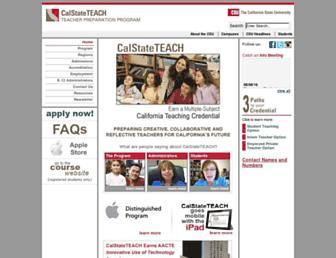 Thumbshot of Calstateteach.net