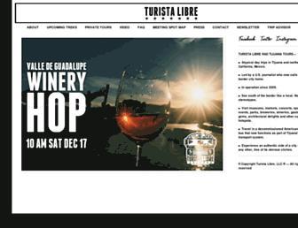 turistalibre.com screenshot