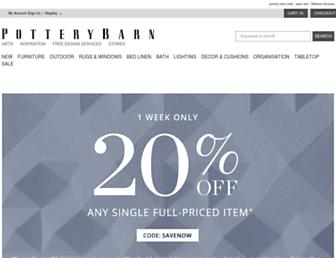 Thumbshot of Potterybarn.com.au