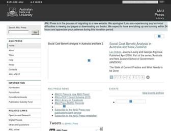 press-files.anu.edu.au screenshot
