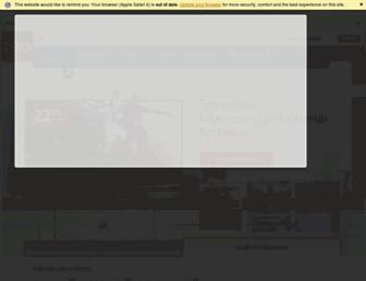 Main page screenshot of teo.lt