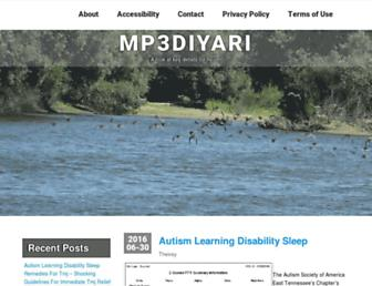 mp3diyari.net screenshot