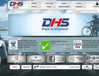 dhsbike.ro screenshot