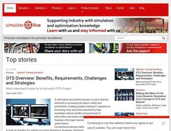 simulatelive.com screenshot