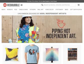 redbubble.com screenshot