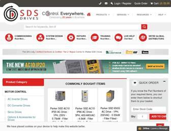 sdsdrives.com screenshot
