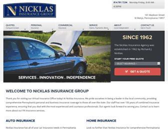 nicklasgrp.com screenshot