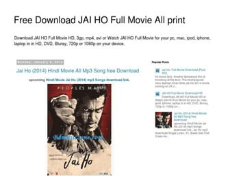 jaihomoviesfreedownload.blogspot.com screenshot