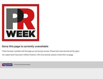 Thumbshot of Prweek.co.uk