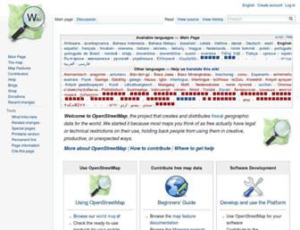 wiki.openstreetmap.org screenshot