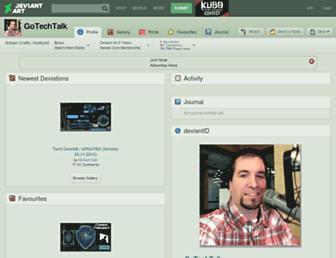 gotechtalk.deviantart.com screenshot