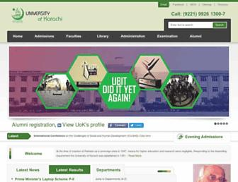 Thumbshot of Uok.edu.pk