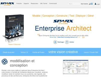 sparxsystems.fr screenshot