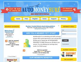 Thumbshot of Automoneysurf.com
