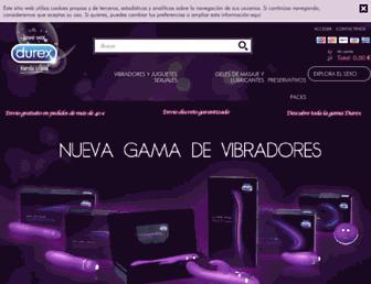 latiendadurex.com screenshot