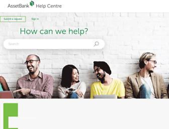 support.assetbank.co.uk screenshot