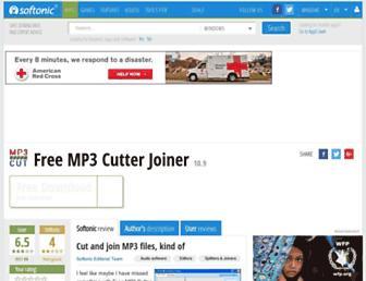 free-mp3-cutter-joiner.en.softonic.com screenshot