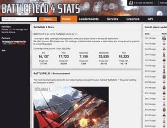 Thumbshot of Bf4stats.com