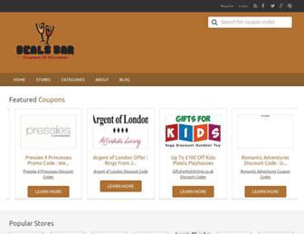 Thumbshot of Dealsbar.co.uk