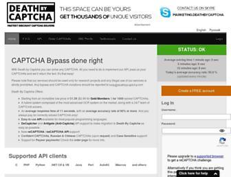 Thumbshot of Deathbycaptcha.com