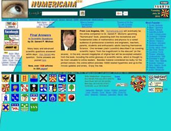 numericana.com screenshot