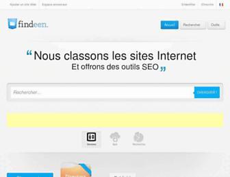 findeen.fr screenshot