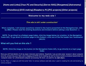 questions4steveb.co.uk screenshot