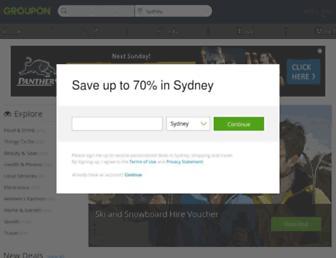 Thumbshot of Groupon.com.au