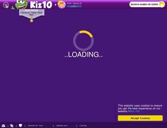 kiz10.com screenshot
