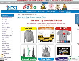 nycwebstore.com screenshot