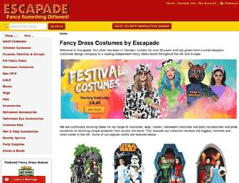 Thumbshot of Escapade.co.uk