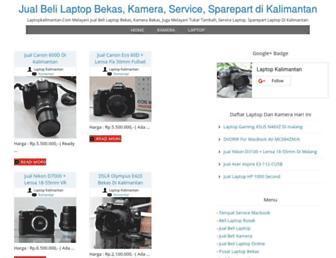 laptopkalimantan.com screenshot