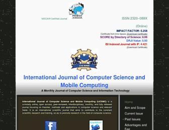 ijcsmc.com screenshot