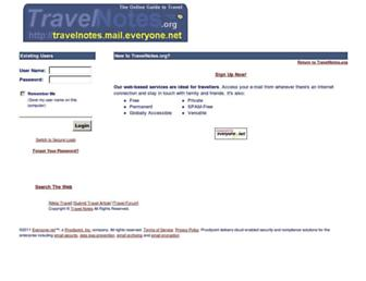 Main page screenshot of 54809.svc.e1m.net