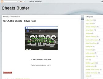 cheatsbuster.blogspot.com screenshot