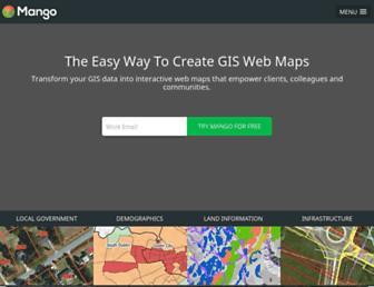 mangomap.com screenshot