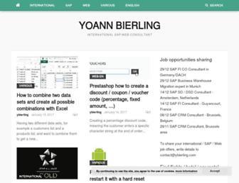 ybierling.com screenshot
