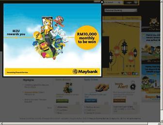 Thumbshot of Maybank2u.com.my
