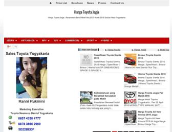 jogjatoyota.com screenshot