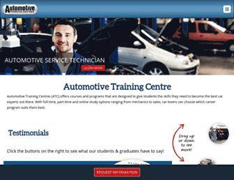 autotrainingcentre.com screenshot