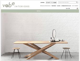vobeinteriors.com screenshot