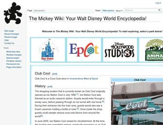 themickeywiki.com screenshot
