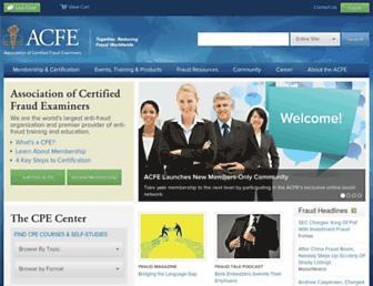 Thumbshot of Acfe.com