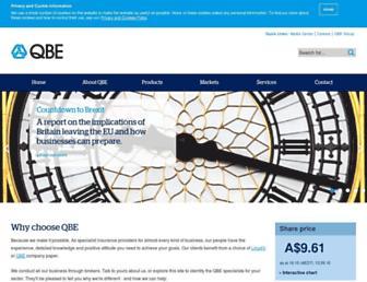 qbeeurope.com screenshot