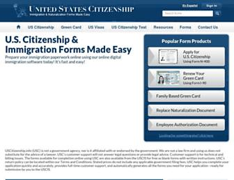 Thumbshot of Uscitizenship.info