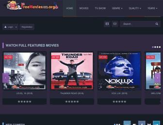 freemovies4k.org screenshot