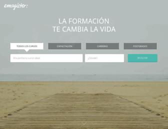 emagister.cl screenshot